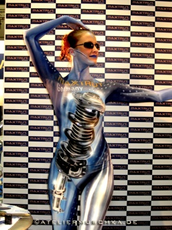 Was ist ein individuelles Bodypainting  - Bodypainting privat mit Fotoshooting